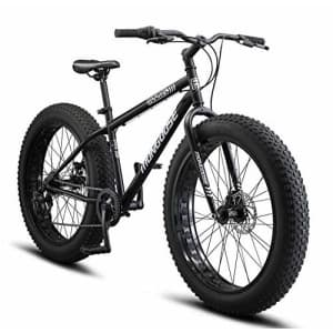 Mongoose Malus Adult Fat Tire Mountain Bike, 26-Inch Wheels, 7-Speed, Twist Shifters, Steel Frame, for $1,008