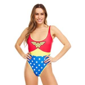 Undercurrent Women's Wonder Woman One-Piece Swimsuit for $14