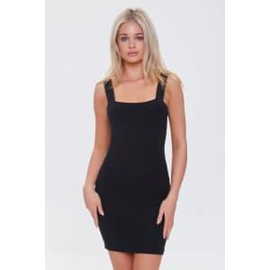 Forever 21 Women's Cutout Bodycon Mini Dress for $11