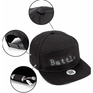 Programmable Bluetooth Sign Hat for $16