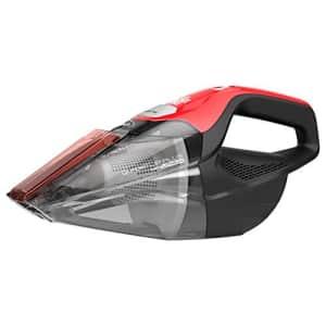 Dirt Devil Plus 16V, Red Quick Flip Pro Cordless 16 Volt Lithium Ion Bagless Handheld Vacuum for $46