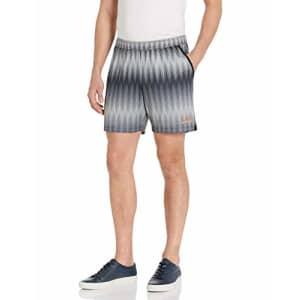 Emporio Armani EA7 Men's Ventus7 Shorts, Black Fancy, L for $69