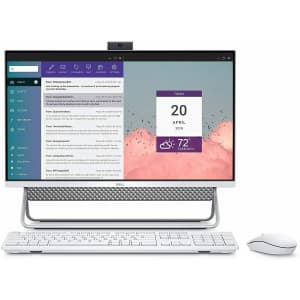 "Dell Inspiron 24 5400 11th-Gen. i5 23.8"" Touch AIO Desktop PC for $709"