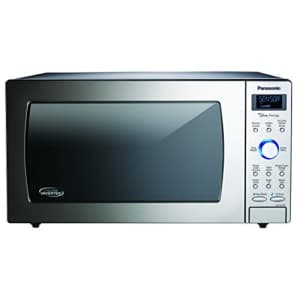 Panasonic Countertop / Built-In Microwave Oven with Cyclonic Wave Inverter Technology and 1250W of for $305