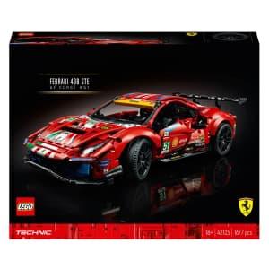 "LEGO Technic Ferrari 488 GTE ""AF Corse #51"" for $145"