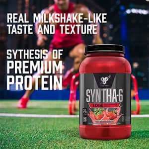 BSN SYNTHA-6 Edge Protein Powder, with Hydrolyzed Whey, Micellar Casein, Milk Protein Isolate, Low for $31