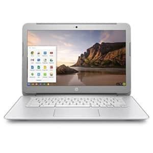 HP 14-inch Chromebook HD SVA (1366 x 768) Display, Intel Dual Core Celeron N2840 2.16GHz, 4GB DD3L for $190