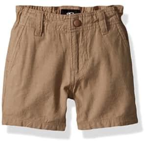 O'NEILL Little Boys Scranton Chino Short, Khaki, 2T for $20