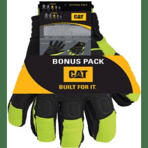 CAT Men's XL Indoor/Outdoor Mechanics Glove 2 P-Pack for $10
