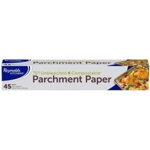 Reynolds Kitchen 45-sq. ft. Unbleached Parchment Paper for $3.32 via Sub & Save
