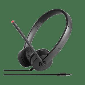 Lenovo 100 Stereo Analog Headset for $11