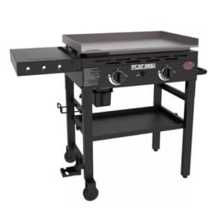 Char-Griller 2 Burner Outdoor Gas Griddle for $200