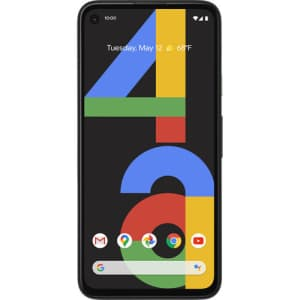 Google Pixel 4a 128GB Android Smartphone for $334