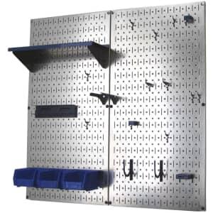 Wall Control Galvanized Steel Pegboard Tool Organizer for $85