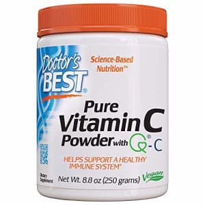 Doctor's Best Vitamin C Powder with Quali-C, Healthy Immune System, Brain, Eyes, Heart and for $28