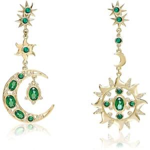 Codilo Sun and Moon Drop Earrings for $15
