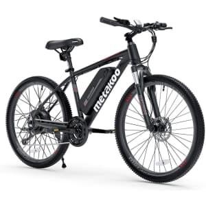 Metakoo Cybertrack 100 Electric Bike for $700