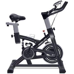 iDeer Life Stationary Exercise Bike for $168