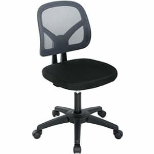 BestOffice Office Chair Computer Chair Desk Chair with Lumbar Support Mesh Ergonomic Chair Adjustable Swivel for $60
