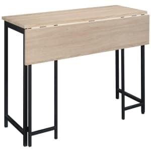 Sauder North Avenue Drop-Leaf Table for $123 w/ padding
