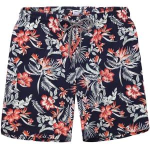 Biwisy Men's Quick-Dry Swim Shorts for $11