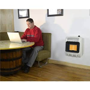 Mr. Heater Corporation Vent-Free 10,000 BTU Radiant Natural Gas Heater, 10000, Multi for $144