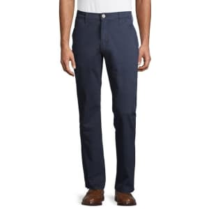 Levi's Signature by Levi Strauss & Co. Men's Athletic Hybrid Chino Pants for $15