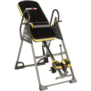 IronMan Gravity 5000 Inversion Table w/ Airsoft Ankle Straps for $260