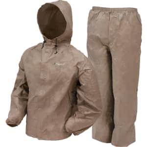 Frogg Toggs Men's Ultra Lite Waterproof Rain Suit for $14