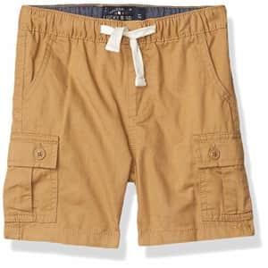 Lucky Brand Boys' Pull on Shorts, Kelp Cargo, 3T for $22