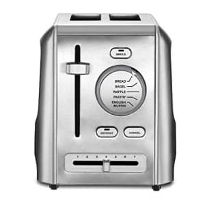Cuisinart CPT-620 2-Slice Metal Toaster, Stainless Steel for $60