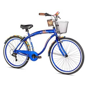 Margaritaville Cargo Margaritaville Coast Is Clear Men's Beach Cruiser Bike, 26-Inch for $479