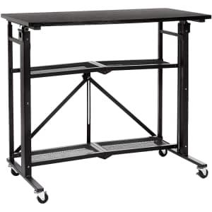 Amazon Basics Foldable Standing Computer Desk for $102 w/ Prime