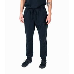 Spalding Men's Activewear Branded Jogger Sweatpant, Black, M for $21