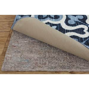 """Mohawk Home Felt and Latex Non Slip Rug Pad, 1/4"""" Thick (6'x9' Oval) for $64"""