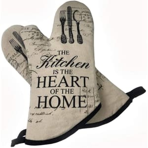 FGSDS Kitchen Oven Mitts for $6