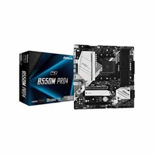 ASRock B550M PRO4 Supports 3rd Gen AMD AM4 Ryzen/Future AMD Ryzen Processors Motherboard for $95