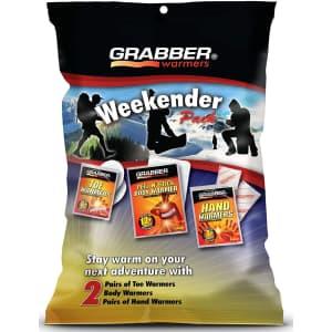 Grabber Weekender Multi-Warmer Pack for $2