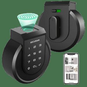 Securam Touch Smart Keyless Lock Deadbolt for $154
