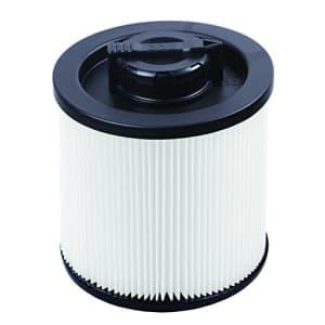 DEWALT DXVC4001 Regular Cartridge Filter- 4 Gal, white for $50