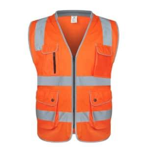 Reflective Safety Vest for $9