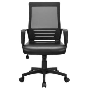 SmileMart Midback Swivel Office Chair for $48