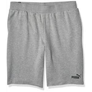 "PUMA Men's Essentials+ 12"" Shorts, Medium Gray Heather, S for $25"