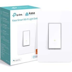 TP-Link Kasa Smart WiFi Light Switch for $15