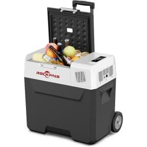 Rockpals 12V 13-Gallon Car Refrigerator for $186