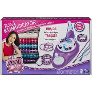 Cool Maker 2-in-1 KumiKreator Bracelet & Necklaces Kit for $15