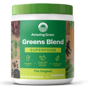 Amazing Grass 30-Serving Greens Blend Superfood for $21 via Sub & Save