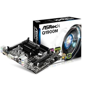 ASRock Motherboard Micro Q1900M for $110