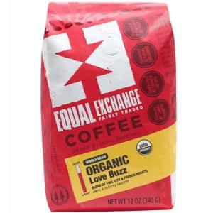 Equal Exchange Organic Coffee Beans 12-oz. Bag for $5