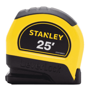 Stanley 25-Foot Lever Lock Tape Measure for $3.99 w/ Ace Rewards